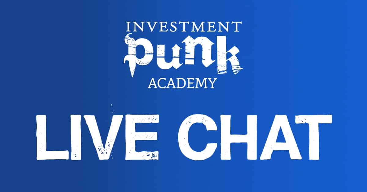 <b>Live Chat</b> mit dem Investment Punk